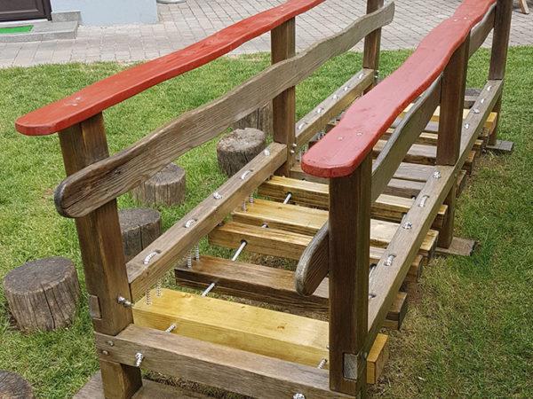 Vzdrževalna dela: plezalne stopnice po obnovi in popravilu